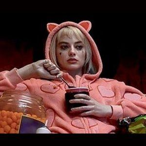 Pink Nightwear Birds Of Prey Harley Quinn Jumpsuit