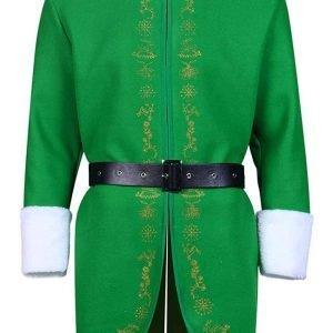 Elf Christmas Buddy Costume Jacket