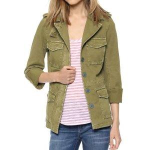 Sylvie's Green Military Jacket