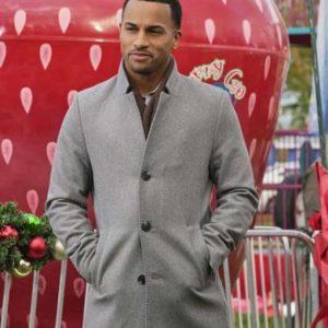 Michael Xavier Christmas Comes Twice Wool-blend Coat