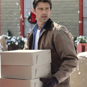 Noah Heart of the Holidays Corey Sevier Brown Jacket