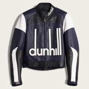 Men's Dunhill leather Biker Jacket dunhill jacket for men's