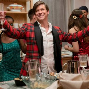 Glenn McCuen Dash & Lily Edgar Red Checkered Jacket