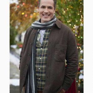 Jake Five Star Christmas Victor Webster Brown Cotton Jacket