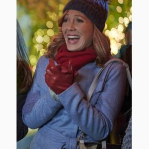 Suzanne Ralston Five Star Christmas Barbara Patrick Blue Trench Coat
