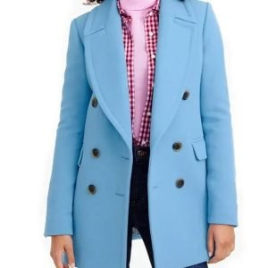 Good Morning America Rebecca Jarvis Blue Coat