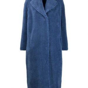 I Hate Suzie Blue Fur Coat