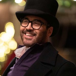 David My Dad's Christmas Date Jeremy Piven Coat