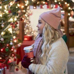 Vivian A Nashville Christmas Carol Jessy Schram Sherpa White Jacket