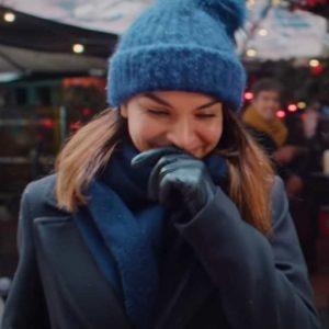 Ida Elise Broch Home for Christmas Season 02 Johanne Trench Coat