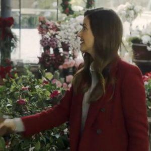 Jingle Bell Bride Julie Gonzalo Red Coat