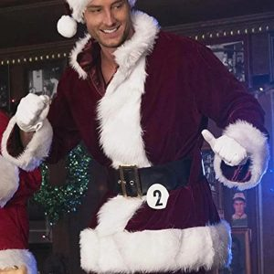 Ty Swindel A Bad Moms Christmas Justin Hartley Red Costume Jacket