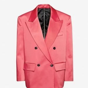 MTV EMA Double-breasted Pink Blazer