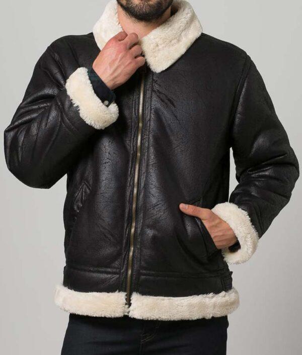 B3 Aviator Shearling Jacket