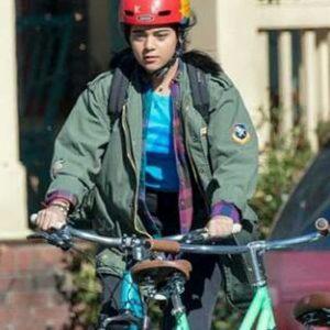 Kamala Khan Ms. Marvel Iman Vellani Green Jacket