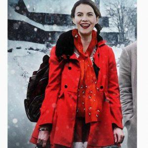 Jen Lost at Christmas Natalie Clark Red Coat