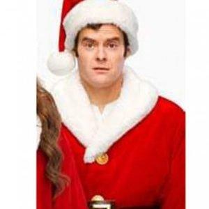 Red Santa Shearling Coat