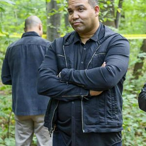 Frank Harts TV Series Prodigal Son JT Tarmel Black Cotton Jacket