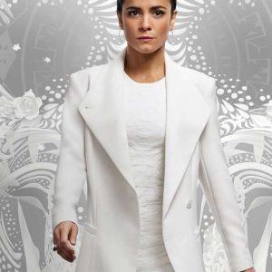 Alice Braga Queen of The South Teresa Mendoza White Coat