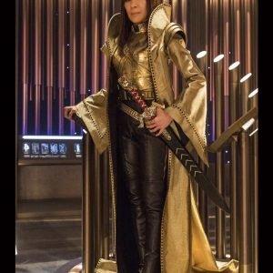 Emperor Georgiou Star Trek Discovery Michelle Yeoh Long Coat