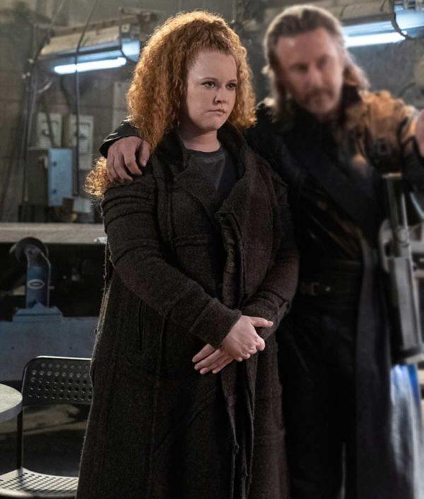 Mary Wiseman Star Trek Discovery S03 Sylvia Tilly Wool-blend Coat
