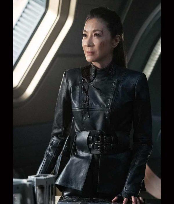 Philippa Georgiou Star Trek Discovery Season 03 Michelle Yeoh Leather Jacket
