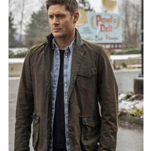Jensen Ackles Supernatural S15 Dean Winchester Cotton Jacket