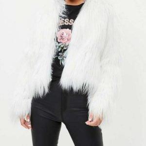 Billie Piper I Hate Suzie White Faux Fur Suzie Pickles Jacket