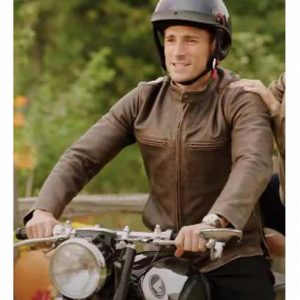 Dex Walters Sweet Autumn Andrew W. Walker Brown Leather Jacket