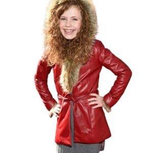 Kate Leather Coat