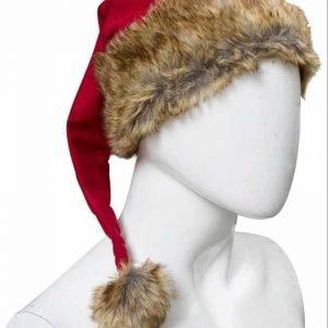 Kurt Russell Movie The Christmas Chronicles Santa Fur Hat