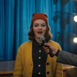 Emma Nolan The Prom Jo Ellen Pellman Woolen Yellow Sweater