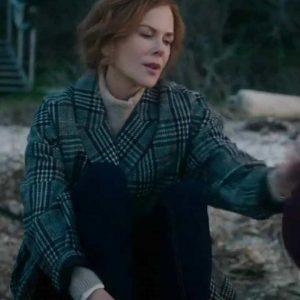 Nicole Kidman The Undoing Grace Sachs Checked Coat