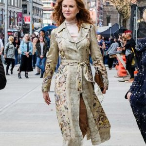 Grace Fraser The Undoing Nicole Kidman Printed Floral Coat