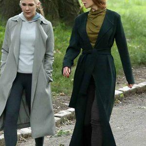 Grace Fraser The Undoing Nicole Kidman Long Green Coat