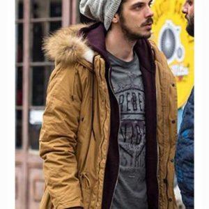 Teddy Umbre Season 3 Gabriel Huian Mustard Hooded Jacket