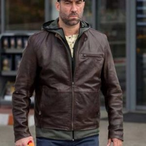 Serban Pavlu Umbre S03 Relu Brown Leather Jacket