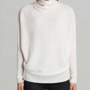 Melinda Monroe Virgin River Alexandra Breckenridge White Neck Sweater