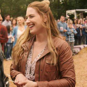 Virgin River Season 02 Melinda Monroe Leather Jacket