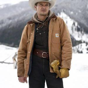 Jeremy Renner Cotton Jacket