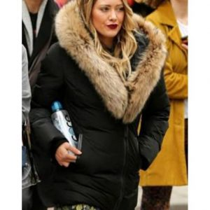 Hilary Duff S07 Fur Jacket