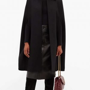 Younger Season 07 Kelsey Peters Cape Coat