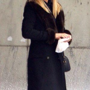 Carol Vanstone Office Christmas Party Jennifer Aniston Black Coat