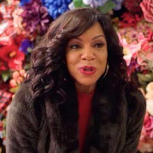 A Christmas Surprise Wendy Raquel Robinson Brown Fur Coat