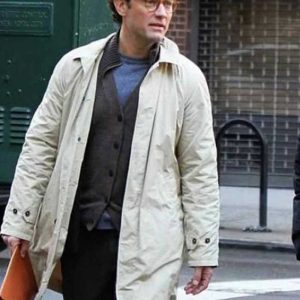 Jude Law A Rainy Day In New York Ted Davidoff Cotton Coat