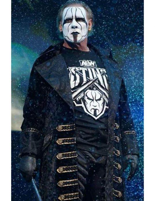 AEW Steve Borden Sting Wrestler Long Coat
