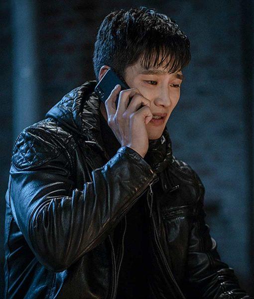 Itaewon Class Jang Geun Won Leather Jacket