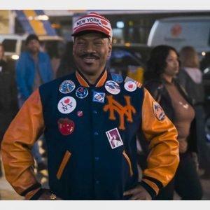 Eddie Murphy Coming 2 America 2021 Akeem Letterman Jacket