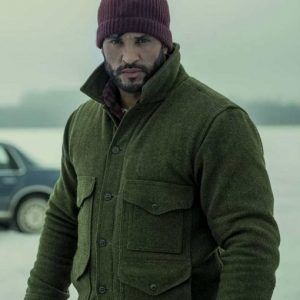 Ricky Whittle American Gods S03 Shadow Moon Jacket