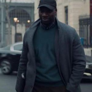 Omar Sy TV Series Arsene Lupin Assane Diop Coat